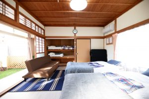 Western-style room with pets (1-4 people capacity, with dedicated dog run) - Annex -